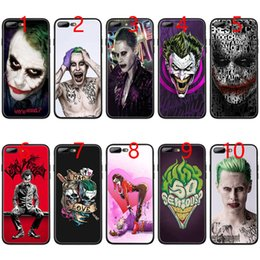 2019 housse de l'iphone batman Housse téléphone noire TPU Batman Dark Knight Joker Karta pour iPhone XS Max XR 6 6 s 7 8 Plus 5 5s promotion housse de l'iphone batman