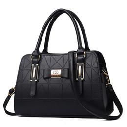 quasten-eimer tasche blau Rabatt Heißer Verkauf Mode Frauen Leder Handtasche Geneigten Weiblichen Bogen-knoten Umhängetaschen Handtaschen Dame Einkaufstasche Weiche Umhängetasche Sac