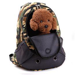 Argentina Pet Carrier Dog Carrier Pet Backpack Bag Bolsa de viaje portátil para perros Bolsa delantera de mascotas Malla de doble hombro al aire libre Suministro