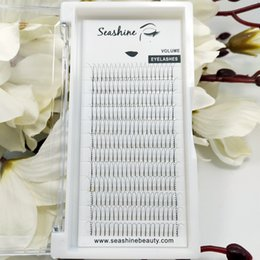 Wholesale Top Individual Lashes - Premade Volume Eyelash Fans 2D Long Stem 8-15mm Length Eyelashes Extensions Curl C D faux Mink lashes Thickness .07 .10 .12 top quality