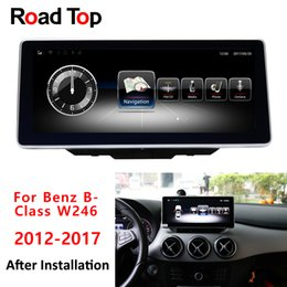 "10,25 ""Android 8,1 Octa 8-Core-CPU 4 + 64G Autoradio Bluetooth GPS Navigation Head Unit Bildschirm für Mercedes Benz B-Klasse 2016-2018 von Fabrikanten"