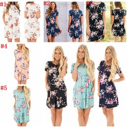 Wholesale Long Sleeves Mini Dress - Womens Summer Short Mini Dress Ladies Sleeveless Beach Evening Party Sundress 10 PCS 5 Colors YYA1063