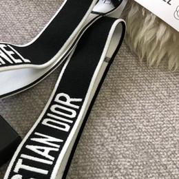2019 cabelo famoso Mulheres Meninas Designer de Cartas de Letras Headbands Elastic Sport Hairbands de Luxo Famosa Marca de Cabelo Acessório com Transporte Rápido cabelo famoso barato