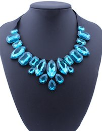 bea2397e8374 cristales de agua negra Rebajas Bohemia 4 Colores Cinta Negro Gran  Rhinestone Gema Crystal Water Drop