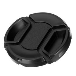 Canada Capuchon de protection d'objectif de caméra universelle Couvercle d'objectif 52/55/58/62/67/72/77 / 82mm fournir choisir avec anti-perte de corde pour reflex numérique Offre