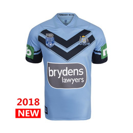Wholesale waterproof dry - Hot sales Welsh holden nswrl 2018 2019 NRL National Rugby League Nsw origins Rugby jersey NSWRL Holton Jerseys shirt Size S-3xL