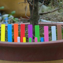 100 adet bir Lot Plastik Bahçe Bitki Etiketleri Kreş Bahis Etiketler Tohumlama Pot Marker Bahçe Süs Etiketleri 5 Boyutları Seçeneği nereden