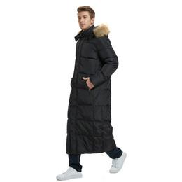 2019 4xl men s parka Длинная утка пуховик мужчины зимние пальто пуховик из натурального меха воротник снежное пальто сгущает теплая верхняя одежда высокое качество S-5XL 2018 скидка 4xl men s parka