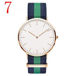 Wholesale Bronze Watches For Women - 2018 With Box Fashion Luxury D Style Simple Watches For Men Women Simple Dial Casual Style High Quality Analog Bracelet Wristwatches Clock
