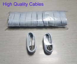 Wholesale ipad iphone charging - High Quality Charging Cord Lightning USB Data Cable For iPhone 4 5 5s 6 6s 7 8 Plus X and iPad 1M 3FT Micro USB Sync Data Cable MQ200