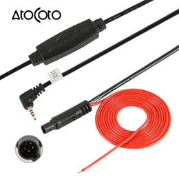 Camion dvr online-AtoCoto 10m maschio 5 pin a 2,5 mm TRRS Jack connettore cavo video estensione per camion / Van Car Recorder DVR per telecamera di backup