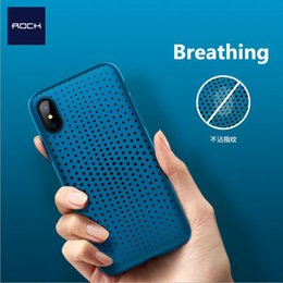 Wholesale Fitting Radiators - Breathing Case for iPhone X, Soft TPU Silicone Cooling protection case for iPhone X, Radiator cover case for iPhoneX