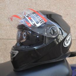 Араи полный шлем двойной объектив мотоцикл шлем Цена супер высокого класса защитные шлемы