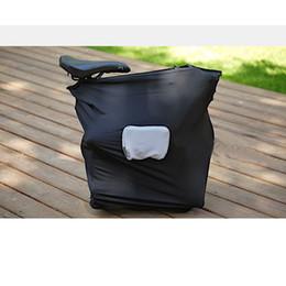 2019 élastique pliable sac à vélo brompton pliable portable sac de chargement élastique étanche à la poussière bicyclette protection contre la poussière promotion élastique pliable