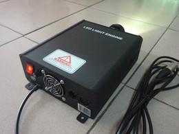 2019 geführtes dimmersignal 45W DMX-Glasfaser-LED-Light-Engine mit drahtloser Fernbedienung und DMX 512-Signal-Glasfaser-Leuchten 45W LED-Dimmer AC100 ~ 256V-Eingang günstig geführtes dimmersignal