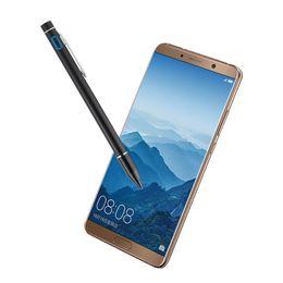 Teléfonos de pantalla táctil de huawei online-Pantalla táctil capacitiva de la pluma activa para Huawei Honor 8 10 9 lite Mate R S P8 8X Max Disfrute 8 8e Plus Stylus Teléfono móvil pluma caso