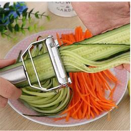 Gratuite Livraison Gratuite En Acier Inoxydable Légumes Peeler Chou Large Bouche Râpes Salade Pomme De Terre Couteau Outils Eplucheur ? partir de fabricateur