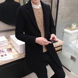 Giacche invernali da uomo di buona qualità Cappotti invernali da uomo Capispalla lunghi da uomo Giacche casual da uomo di grande moda da pizzi fluorescenti fornitori