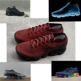 Wholesale black waterproof shoes - Vapormax Running Shoes Mens Womens Classic Running Shoes Vapor White Sport Shock vapormax tn plus air Sporting Athletic designer Sneakers
