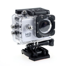 Wholesale hd lcd led - SJ4000 Action Camera Sport 1080P Mini 30-Meter Waterproof 2 Inch LED Full HD 5MP Sport Helmet Shockproof Camera Cam For Bicycle Skate Record