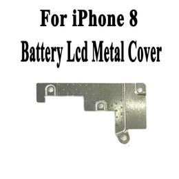 2019 antena de iphone flex Pantalla Lcd Flex Cable Metal Wifi Antena Placa Soporte de la placa Soporte para iPhone 8 8G 8P 8Plus X 8X Batería Flex Cubierta Junta Soporte antena de iphone flex baratos