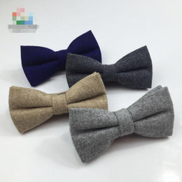 Classic Formal Mens Wool Solid Bow Ties Handsome Grey Color Thick Bowtie Casual Business Cravat British Style Butterfly Ties от Поставщики натуральные красные перья