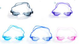 Occhialini da nuoto con tappi per le orecchie All'aperto Occhiali da nuoto trasparenti senza perdite Protezione anti UV Occhiali da nuoto impermeabili per bambini A-631 da kit di stoccaggio trucco fornitori