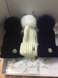 chapeau de soleil garçons crochet Promotion Chapeau d'hiver pour enfants Filles Garçons Chapeau 100% Réel Fourrure De Raton Laveur Chapeau Épais Bébé Chaud Chapeau