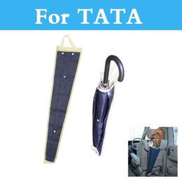 Wholesale Car Umbrella Storage - Car Auto Seat Back Umbrella Storage Bag Foldable Organizer Holder Cover Pouch For Tata Indica Indigo Nano Safari Sumo Aria