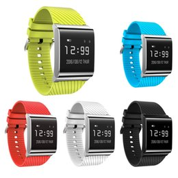 x9 smart watch Promo Codes - Smart Bracelet Bluetooth 4.0 X9 Plus Smart Wristband Watch for android IOS Package