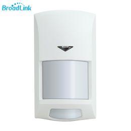 2019 sensor de pir e câmera de segurança Original broadlink s1 pir motion sensor wifi controlado 433 mhz sem fio infravermelho anti-roubo para home security s1 sistema de alarme desconto sensor de pir e câmera de segurança