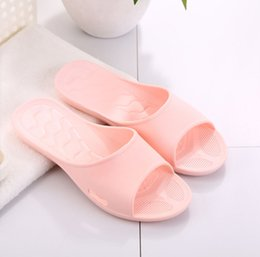 Wholesale Lovers Slippers Indoor - Bathroom sandals indoor home and home antiskid Hotel slippers home lovers couples men and women shower plastic and cold shoes