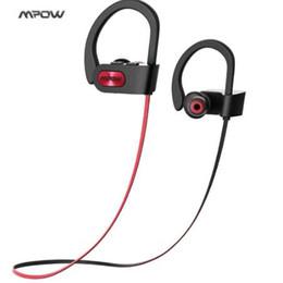 Новый Mpow IPX7 водонепроницаемый Bluetooth наушники шумоподавления беспроводные наушники bluetooth 4.1 спорт наушники Наушники Наушники с микрофоном от