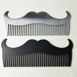 penteado de barbeiro de aço inoxidável Desconto Novo Aço Inoxidável Profissional Pente Salão de Cabeleireiro Anti-estático Barbeiros Combes Uso Doméstico Salão de Cabeleireiro Escova de Cabelo Pente