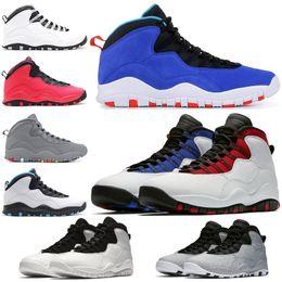 pour expédition Promotion Nouveau Tinker Westbrook 10 Chaussures de basket-ball Ciment Je suis de retour 10s Sneakers de sport chicago Bobcats Racer Blue Taille 7-13 Drop Shipping