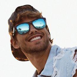 2019 голубая авиация DOKLY Polarized Aviation blue mirror Sunglasses men's Vintage Sun Glasses For men Fashion  Mirror Shades Oculos дешево голубая авиация