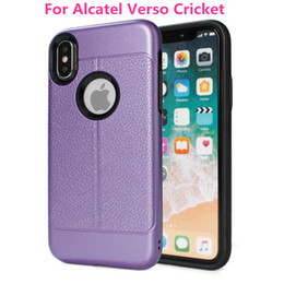 Coolpad cover online-Qualität 2 in 1 Hybrid Rüstung Fall für Coolpad REVVL Plus T-Mobile für Alcatel Verso Cricket Dual Layer Cover A