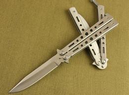 Wholesale aluminum class - Butterfly BM26 26BK 26S BM42 C27 C31 C23 Knife EDC Pocket Knife Aluminum Tactical knife white Black Class 56 HRC 1PCS Free Shipping