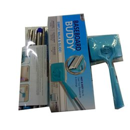Wholesale clamps types - Practical Clean Swabber Baseboard Buddy Extensible Handle Plastic Cleaning Mop Convenient Household Cleanings Products High Quality13 8hl