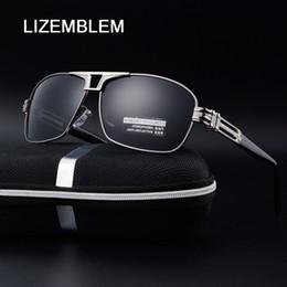 7a7fde66d75 2017 Mercededly Sunglasses Hombres Diseñador de la marca Vintage gafas de  sol polarizadas Hombre gafas de sol Gafas con caja D cuadrada Gozluk  Ofertas de d ...
