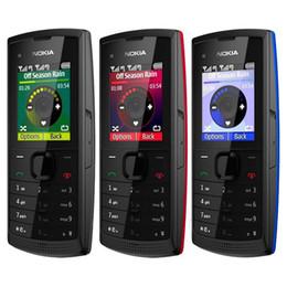 Дешевый двойной телефон разблокировки sim онлайн-Восстановленное в Исходном Nokia X1-01 Бар Телефон Dual SIM 1,8-дюймовый Экран Разблокирована 2 Г GSM Дешевый Телефон Бесплатный Пост 1 шт.