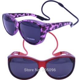 Lunettes de soleil en Ligne-retailsales 045 UV400 polarisé anti-dérapant unique fullim fit sur lunettes de soleil de pêche sportives avec sangle suspendue en silicone