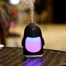 Wholesale Mini Car Air Freshener Purifier - Air USB Air Purifier Freshener with LED Lamp Aromatherapy Diffuser Mist Maker for Home Auto Mini Car Humidifiers