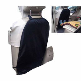 Wholesale Car Mats Seat Covers - Car Auto Care Seat Back Protector Cover High Quanlity Child car kick mats Mud Clean protector case cover GGA210
