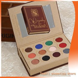 Wholesale Eyeshadow Make Up Palette - Harry Potter 12 color eyeshadow palette Harry Potter make-up series dhl free shipping