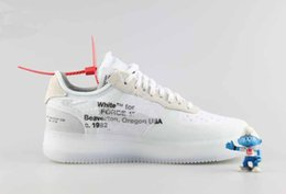Wholesale Mid C - Off Shoes The Ten X Virgil Abloh Presto Retro Blazer Mid AIR 97 90 Zoom Fly React Hyperdunk FK White Sneaker