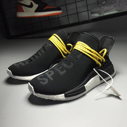 Wholesale Cheap Training Tables - With Box 2018 Cheap Human Race NMD pharrell williams Women Men Fashion Outdoor Training Sneaker nmd Human Races Running Shoes