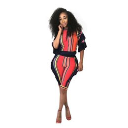 4dc81703c4ed Sexy 2 Piece Set Striped Print Short Sleeve Tops Bodycon Shorts Sweat Suits  Two Piece Tracksuit Women Summer Outfits