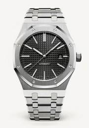 Top Mens Orologi Luxury Watch Automatic Orologi meccanici 15400 Modello 2813 Movimento Acciaio inossidabile Sport Impermeabile 30m orologio da polso da uomini d'oro di colore dorato fornitori