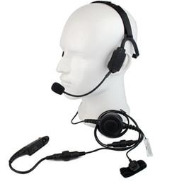 Argentina Auriculares tácticos tácticos de los auriculares tácticos de la conducción del hueso del micrófono de PTT MIC para Motorola GP328 / 320/340 HT1250 Radio Walkie Talkie C2224A supplier military tactical headset Suministro